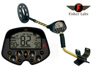 Fisher F5 - field test in very high mineralized soils metal detectors for gold