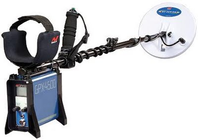 GPX4500 metal detector for gold