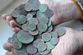 ancient coins underground