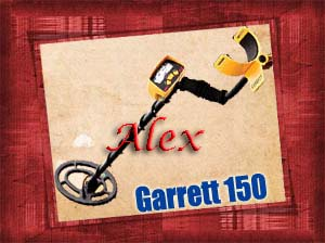 garrett ace 150 GARRETT revealed minerals and gold ore