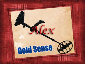 GOLD SENSE device for detecting gold ore veins and granulated gold