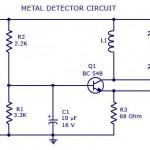 Metal Detector Circuit .