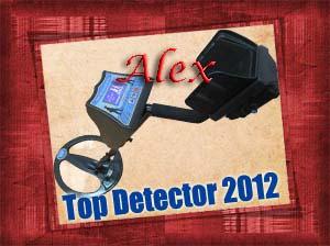 TOP DETECTOR 2012 METAL DETECTOR