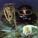 Underwater metal detectors for divers