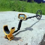 how to set a metal detector